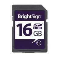 BrightSign class 10 16GB SDHC card