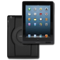 AP.4 - Launch Port Power Sleeve Black for 4th generation iPad & retina display