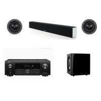 Sound Bar & Surround Sound Speaker Package